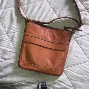BRAND NEW Brown/Chestnut Crossbody Fossil Bag
